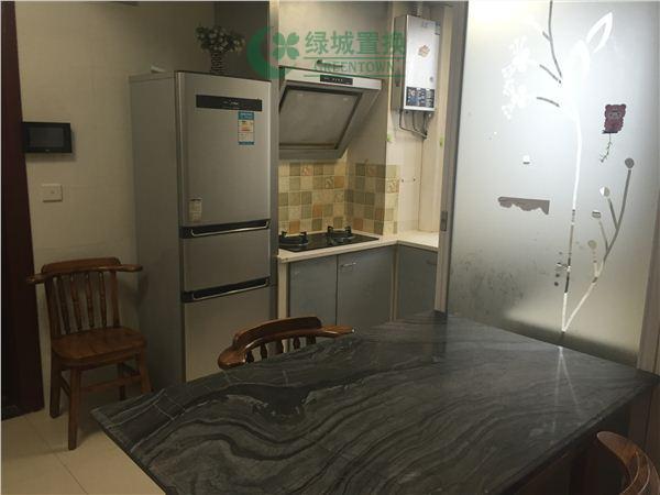 杭州翡翠城出租房餐厅照片,翡翠城东边套小户型,拎包入住!带大露台!