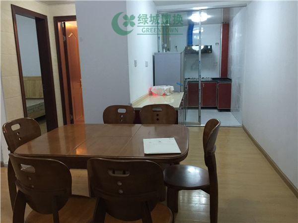 杭州翡翠城灵峰苑出租房客厅照片,家具家电全部齐全