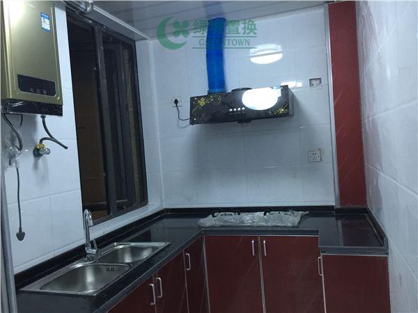 杭州翡翠城灵峰苑出租房厨房照片,家具家电全部齐全