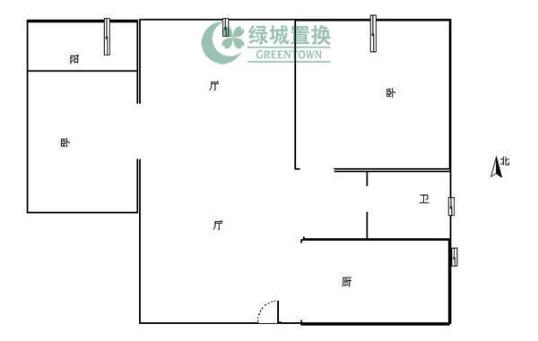杭州翡翠城灵峰苑出租房户型图照片,家具家电全部齐全
