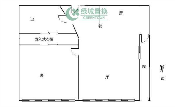杭州梧桐公寓出租房户型图照片,精装,朝西。租客比较急着转。
