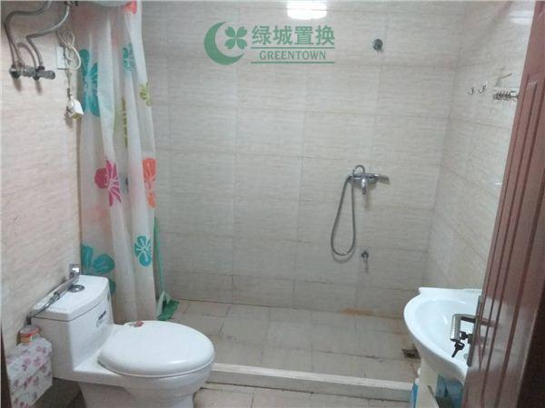 杭州翡翠城梅苑出租房卫生间照片,可办公,无家具家电