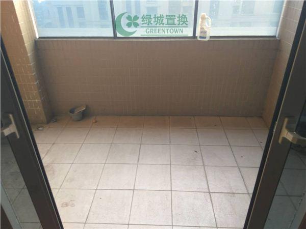杭州翡翠城梅苑出租房阳台照片,可办公,无家具家电