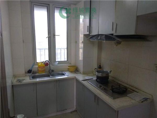 杭州翡翠城梅苑出租房厨房照片,可办公,无家具家电
