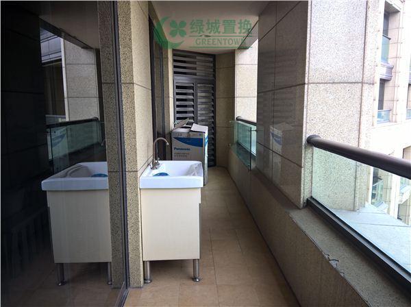 杭州丁香公馆绿开出租房阳台照片,