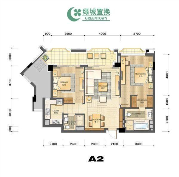 杭州丁香公馆绿开出租房户型图照片,
