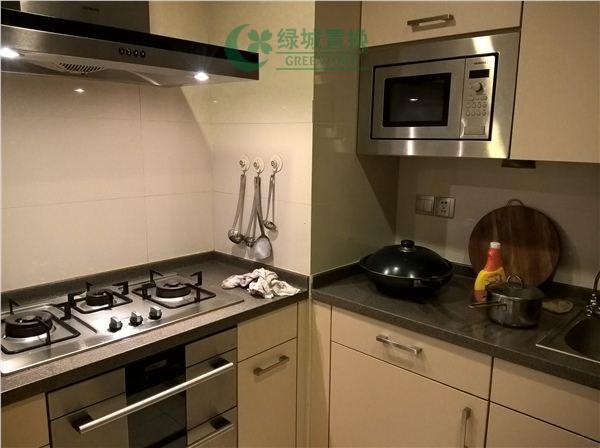 杭州丁香公馆绿开出租房厨房照片,