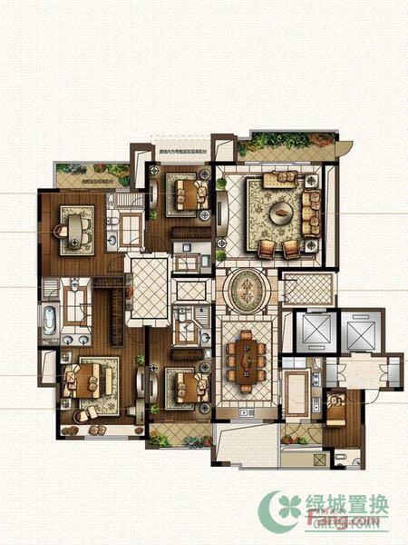 4房两厅3卫