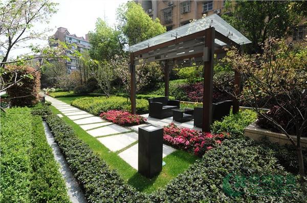 小区中心花园