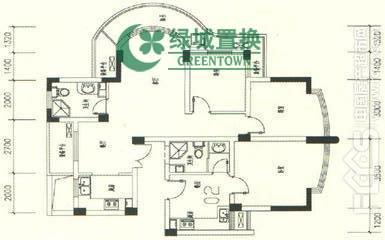 杭州风华苑出租房户型图照片,风华苑 两房精装 家具家电全配