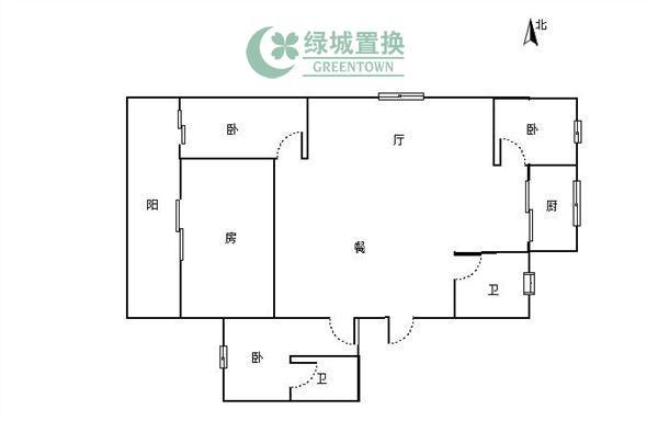 杭州出租房户型图照片,小区中心位置,,中等装修