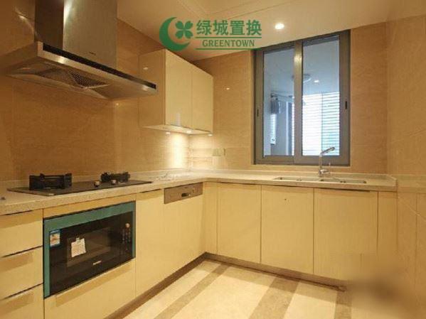 杭州万象城悦玺出租房厨房照片,