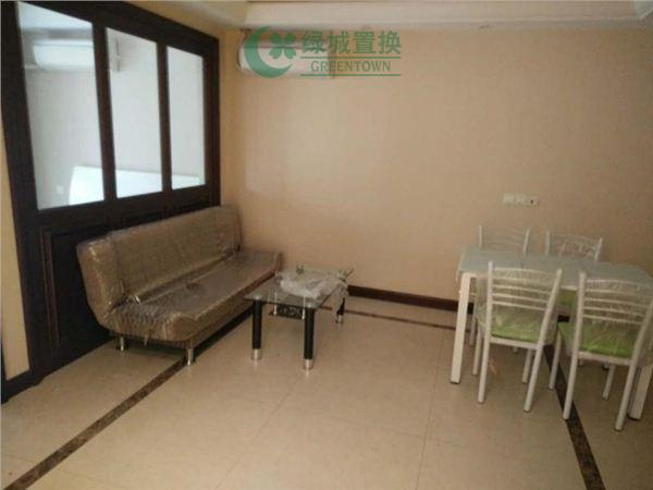杭州蓝庭花园出租房客厅照片,蓝庭花园 精装修 领包入住