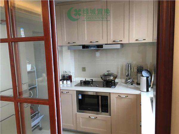 杭州蓝庭花园出租房厨房照片,蓝庭花园 精装修 领包入住
