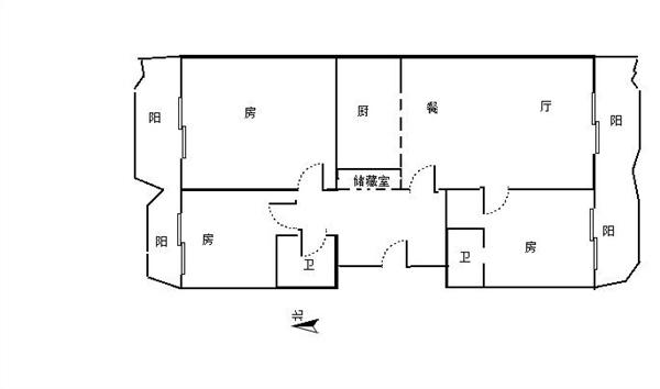 杭州丁香公馆出租房户型图照片,精装修 拎包入住 环境好