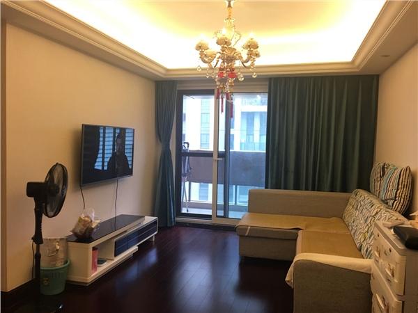 杭州金色黎明出租房客厅照片,精装全配,诚心出租