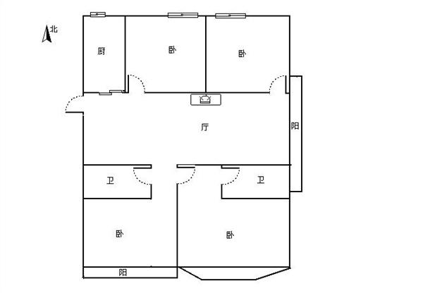 杭州紫玉福邸出租房户型图照片,城东稀缺4房出租
