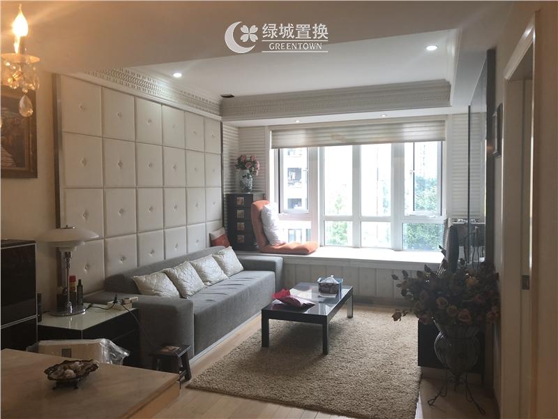 杭州梧桐公寓出租房客厅照片,