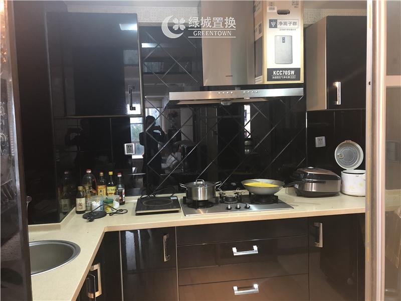 杭州梧桐公寓出租房厨房照片,