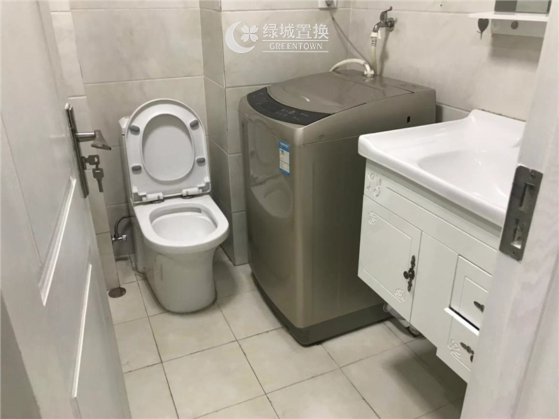 杭州新远金座出租房卫生间照片,