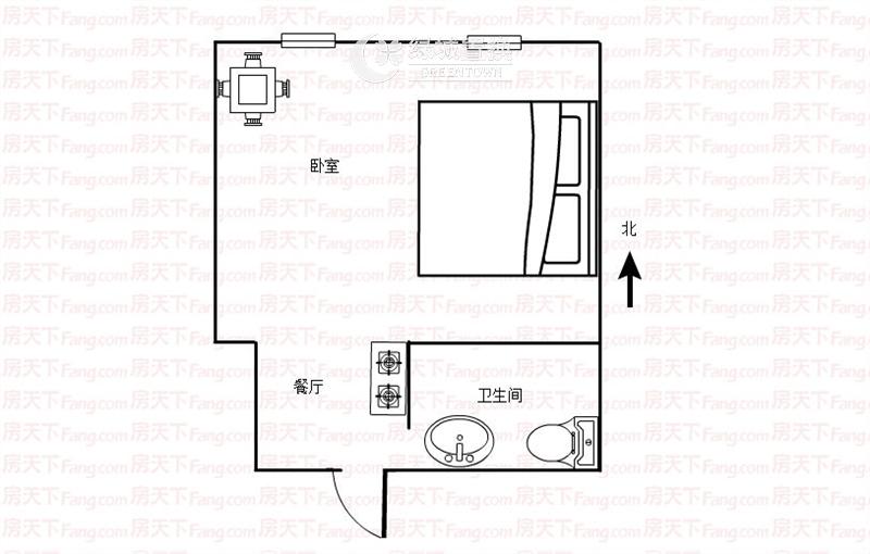杭州新远金座出租房户型图照片,