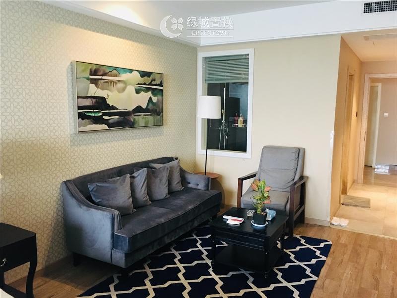 杭州钱江国际出租房客厅照片,