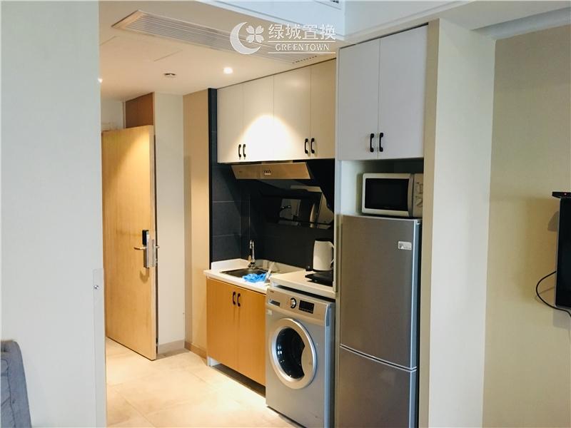 杭州钱江国际出租房厨房照片,