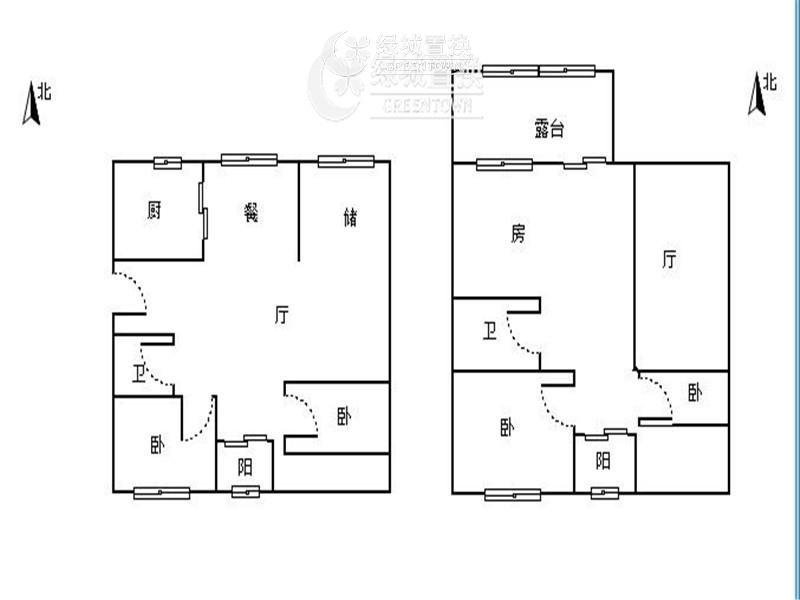 杭州闲林山水出租房户型图照片,