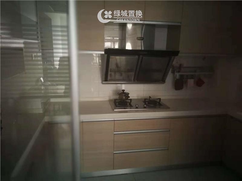 杭州春江花月出租房厨房照片,居家装修 ,首次出租 视野无敌