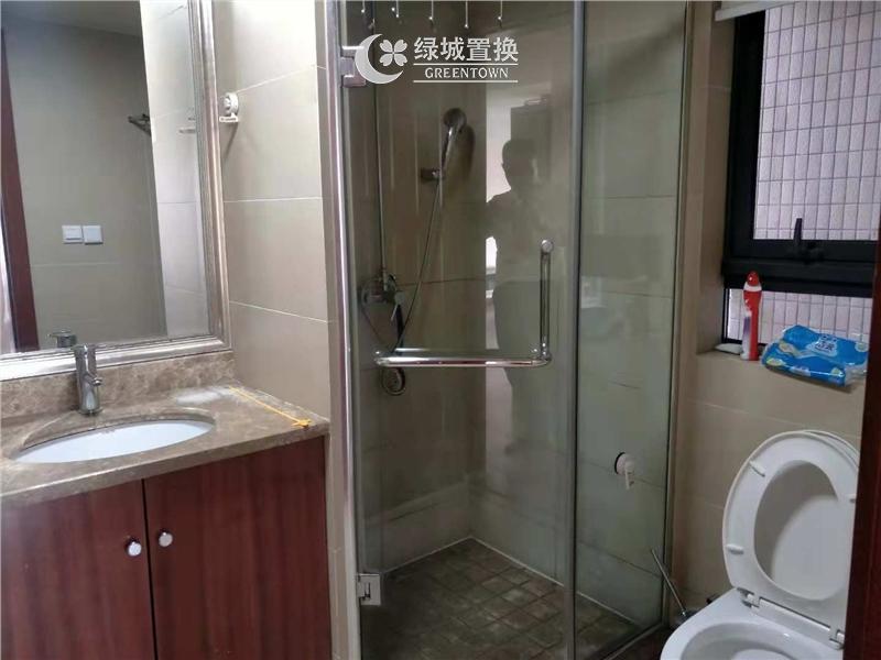 杭州锦兰公寓出租房卫生间照片,精装