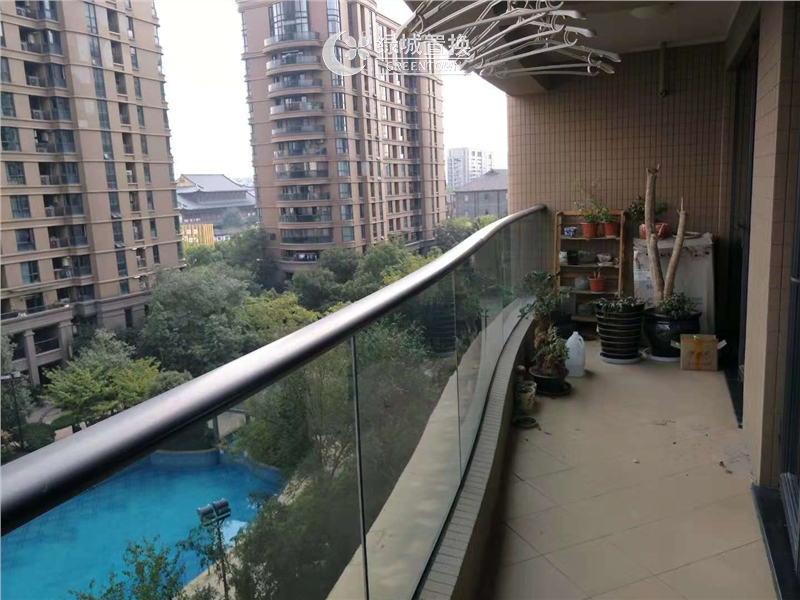 杭州锦兰公寓出租房阳台照片,精装