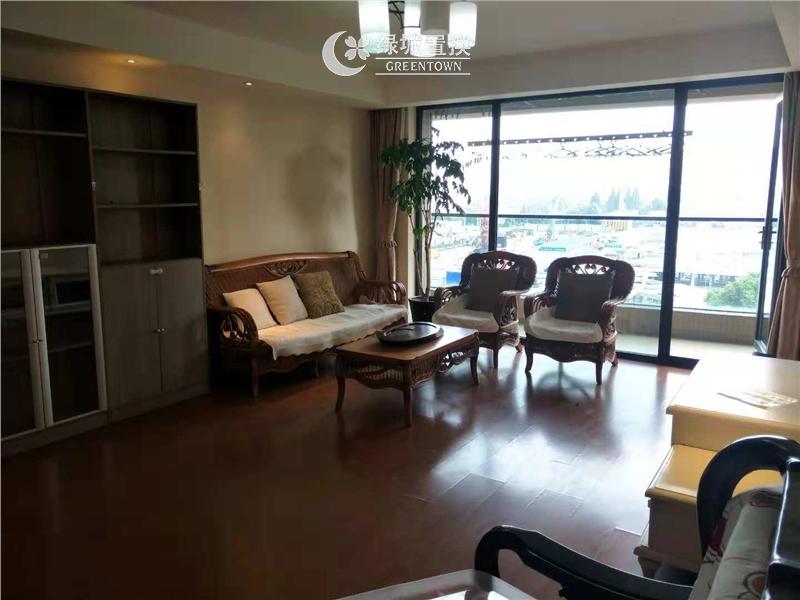杭州锦兰公寓出租房客厅照片,精装