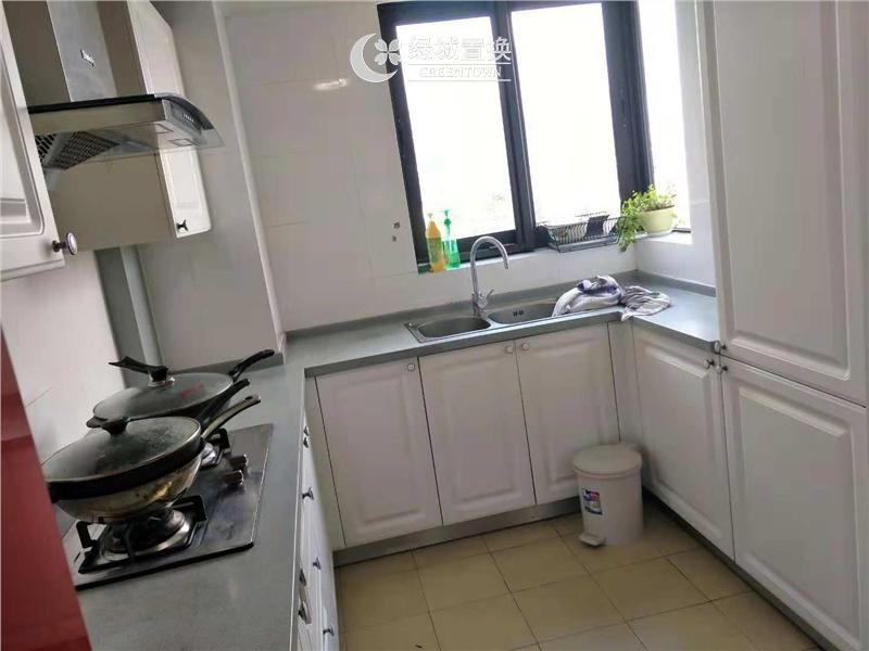 杭州锦兰公寓出租房厨房照片,精装