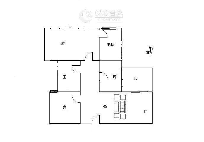 杭州翡翠湾出租房户型图照片,婚房装修,首次出租,拎包入住