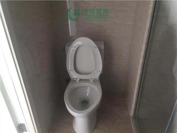 杭州东方时代中心出租房卫生间照片,
