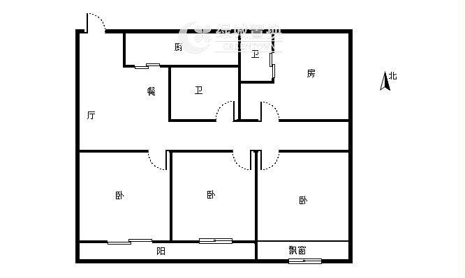 杭州世茂天宸出租房户型图照片,精装修