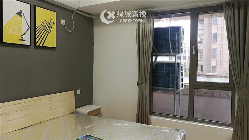 杭州世茂天宸出租房房间照片,精装修