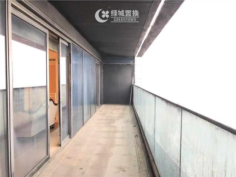 杭州蓝色钱江出租房阳台照片,房东 诚心出租