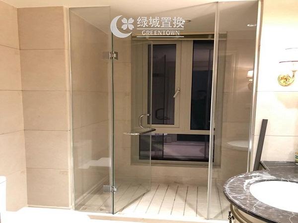 杭州蓝色钱江出租房卫生间照片,房东 诚心出租