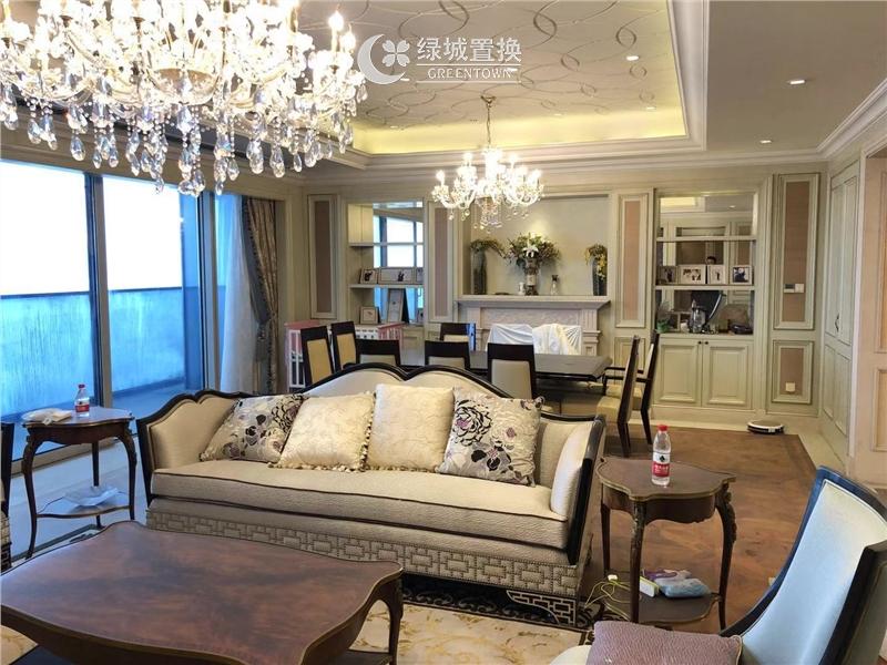 杭州蓝色钱江出租房客厅照片,房东 诚心出租