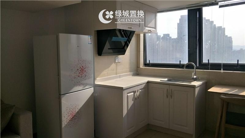 杭州万宝城出租房厨房照片,精装修,拎包入住,交通便利