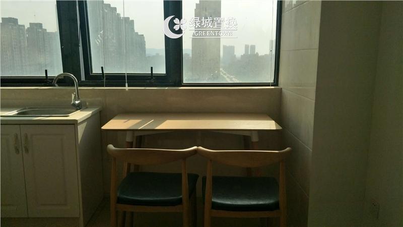 杭州万宝城出租房餐厅照片,精装修,拎包入住,交通便利
