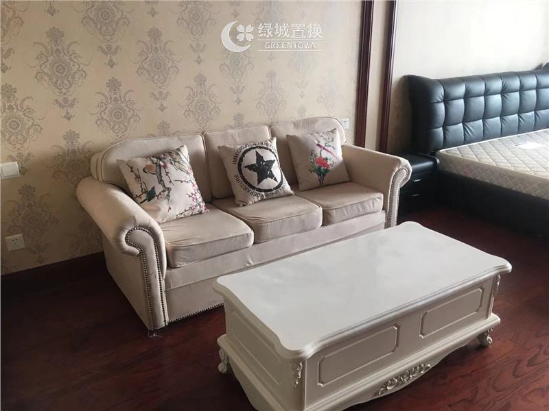 杭州海运国际出租房客厅照片,