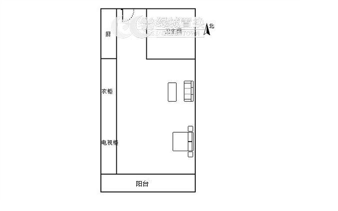 杭州海运国际出租房户型图照片,