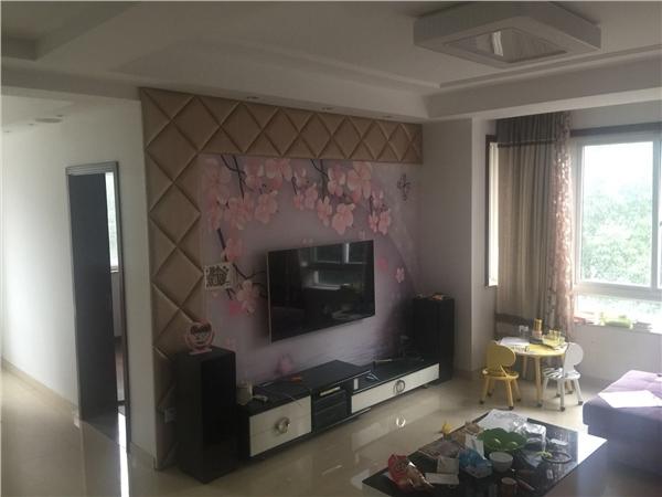 杭州闲林山水出租房客厅照片,闲林商圈 .闲林山水