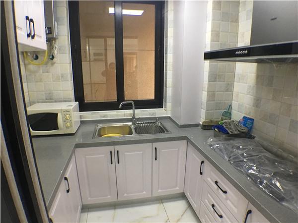杭州莱茵传奇出租房厨房照片,1.精装修,拎包入住