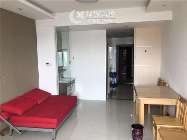 杭州出租房客厅照片,临平商圈.德雅金座