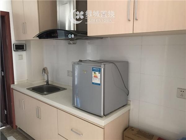 杭州出租房厨房照片,临平商圈.德雅金座