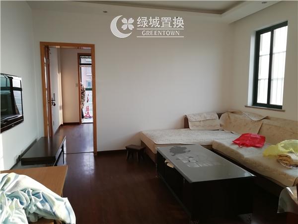 杭州出租房客厅照片,易居时代简装全配出租2300/月