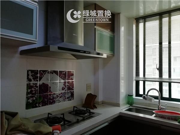 杭州出租房厨房照片,易居时代简装全配出租2300/月